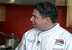 Chef Kevin Gaudreau of the NEW Ruth's Chris Steak House visits S&W TV and Appliances kitchens.