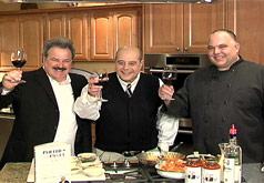 Chef Series from S+W TV & Appliance in E.Providence featuring Buddy Cianci and Chef/Owner Sal Marzilli