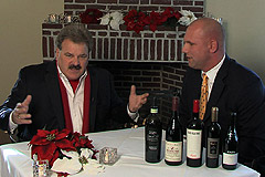Joe with Mark Gasbarro of Gasbarro's Wines